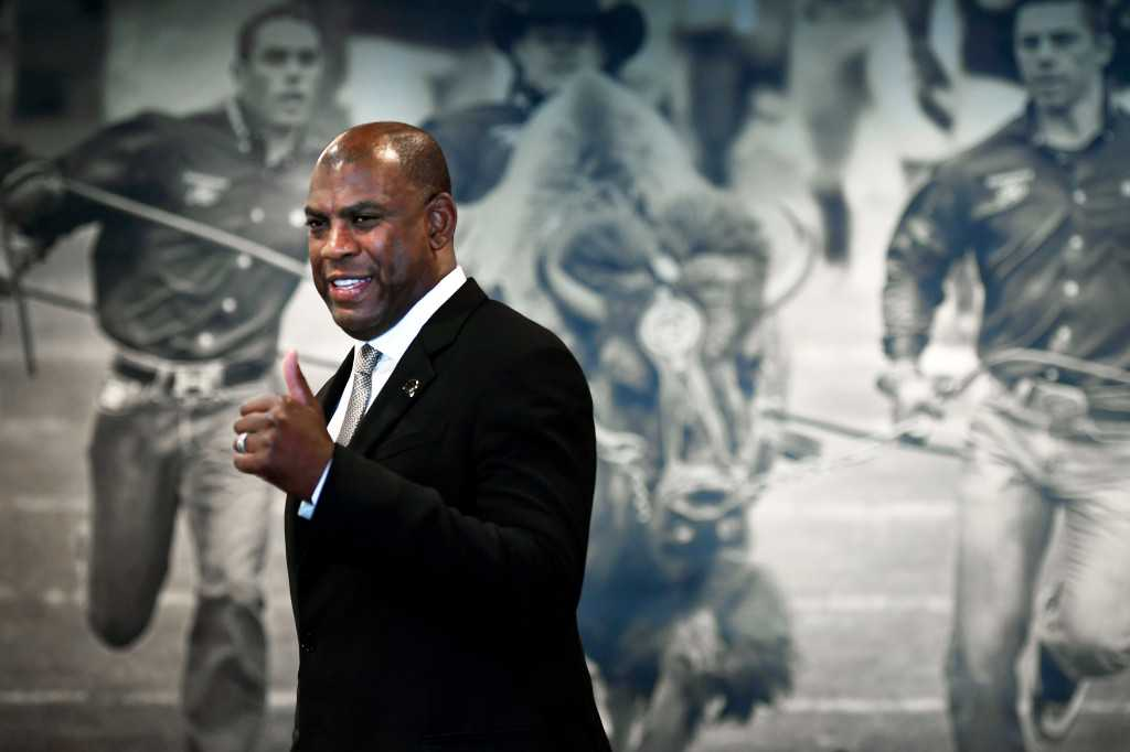 Kiszla: New CU football coach Mel Tucker has crazy, old-school idea of how to build Buffs into champs. Now get off his lawn.