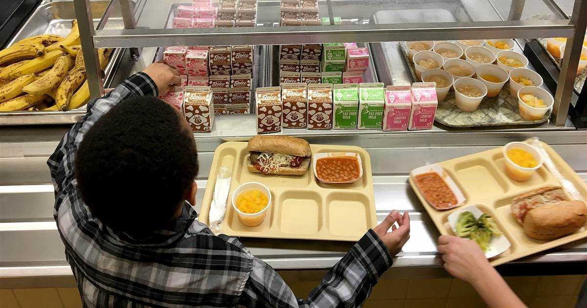 Make America Eat Again: Rolled-back school lunch rules put refined grains, low-fat chocolate milk back on menu