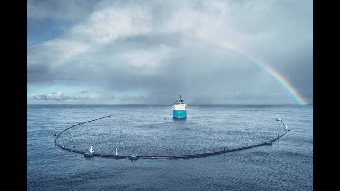 Ocean Cleanup fail? System deployed to Great Pacific Garbage Patch not holding plastic