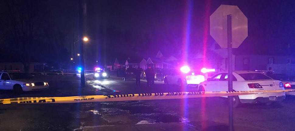 Police investigate double shooting on northeast side