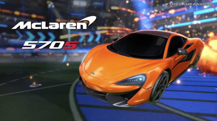 'Rocket League' Gets New McLaren 570S Car Pack