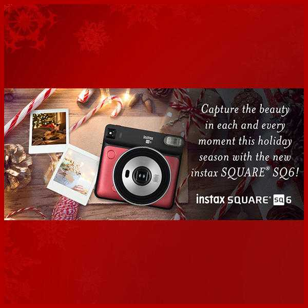 "Sixth Night of Delilah's ""12 Stockings of XMAS"" ... with FUJI FILM INSTAX"