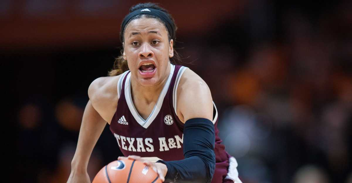 UH falls to Chennedy Carter, Texas A&M in first women's game at Fertitta Center