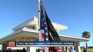 Unclaimed Army veteran laid to rest in Sarasota