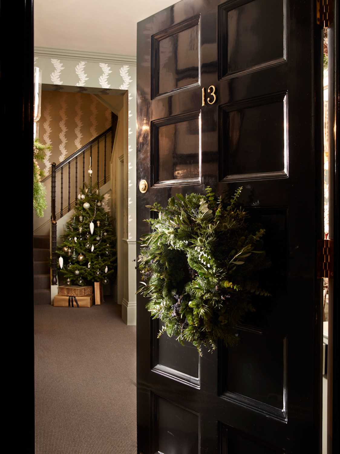 Deck the Halls Like London Designer Hubert Zandberg