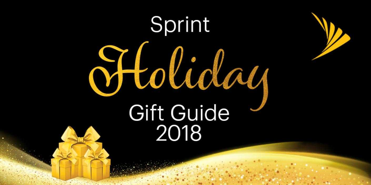 Countdown to Christmas! Sprint's 2018 Gift Guide