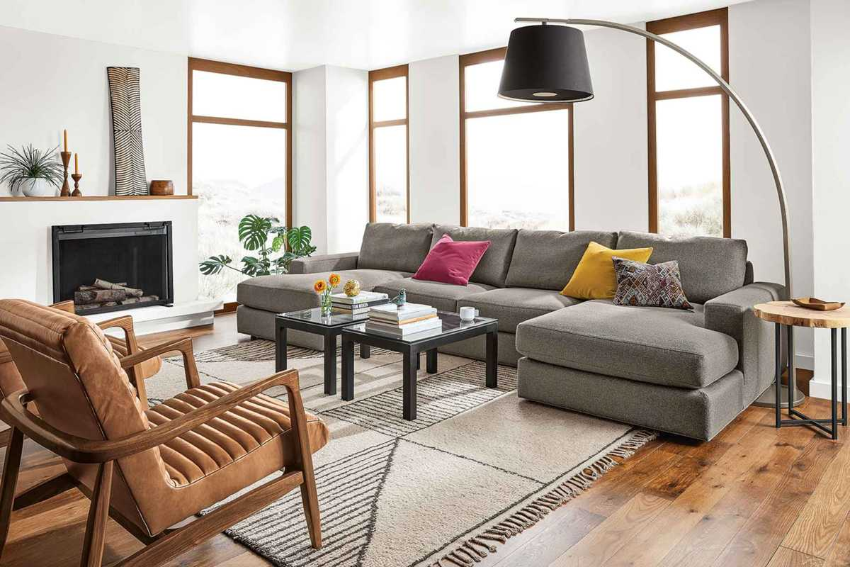 double living room ideas chaise sectional design ideas for living rooms by 14769