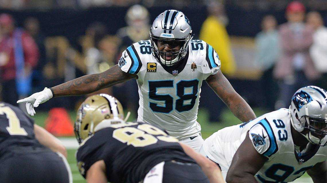 Free agent Thomas Davis: 'I want to be confident that I'm going to be a Panther.'