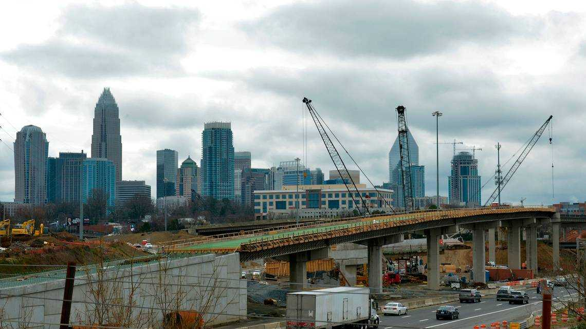 I-77 toll lanes and other projects that will be happening around Charlotte in 2019
