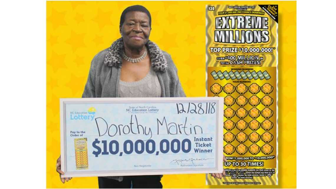 'Call the paramedics,' great-grandmother says. She just won $10 million in NC lottery