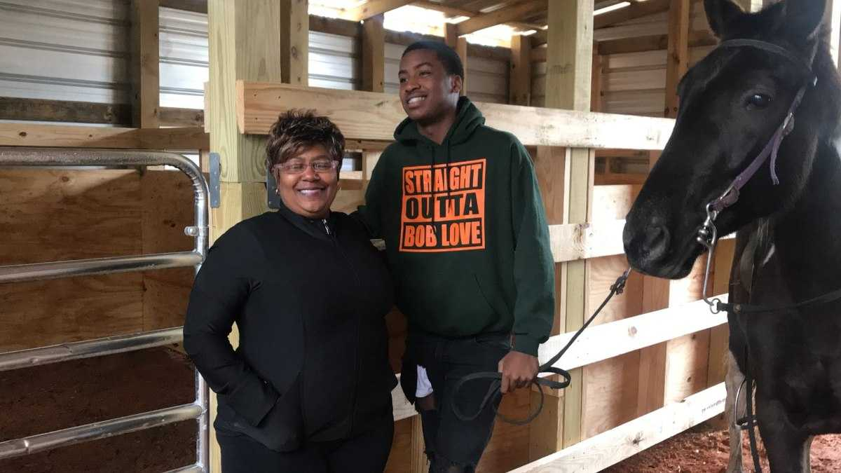 Make-A-Wish surprises 16-year-old with horse barn