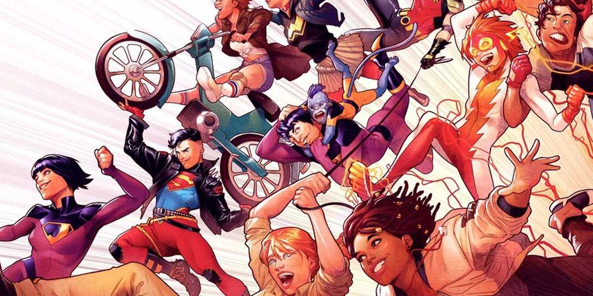 Bendis Working on Young Justice Spinoff with Major Female Creator