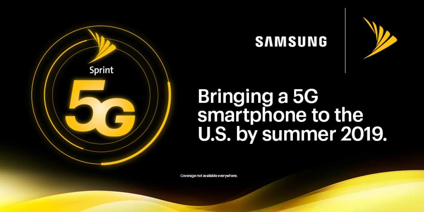 Sprint Planning to Debut 5G Smartphone from Samsung in Summer 2019