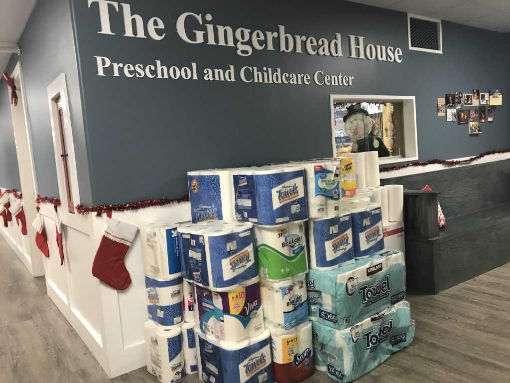 Gingerbread House drive supports Francis House