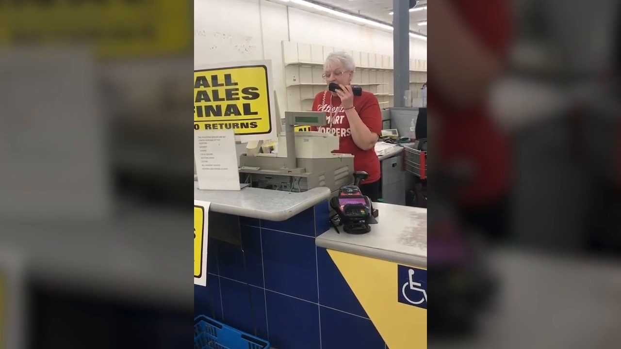 Kmart worker gives tearful goodbye as store closes after 55 years