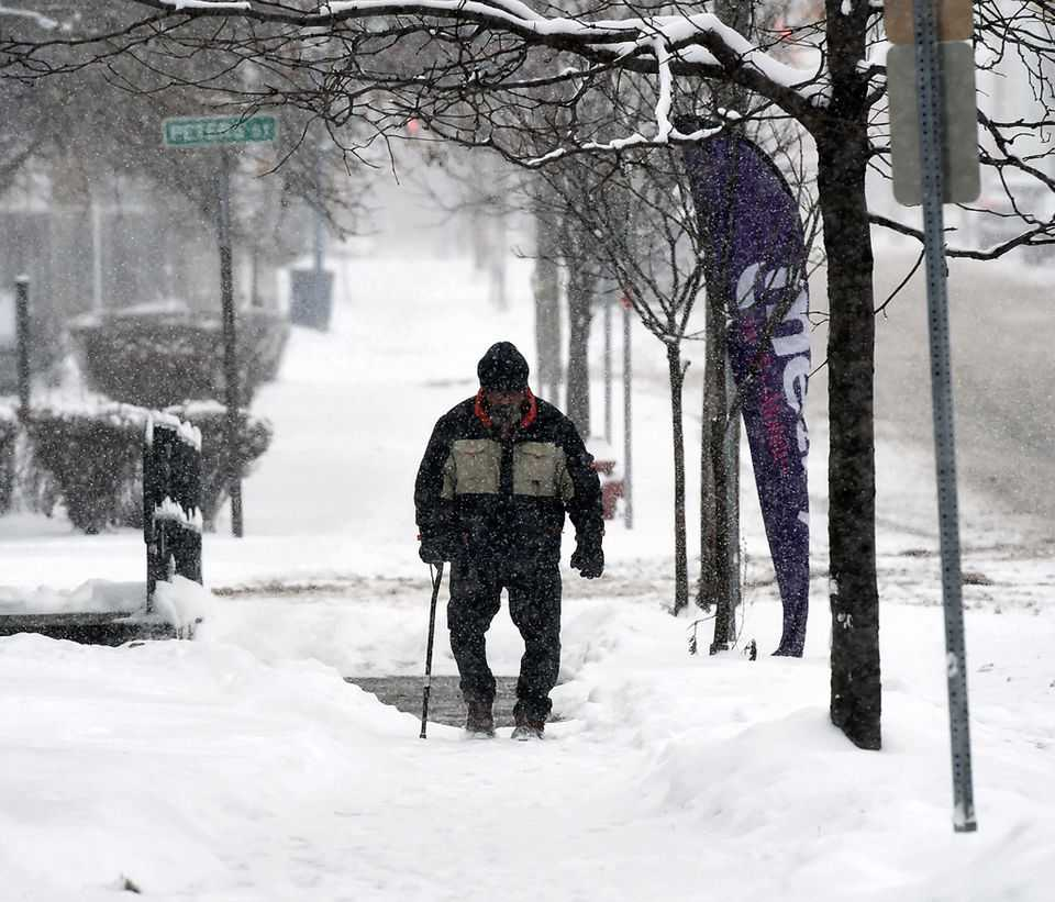Photos: Lake effect winter storm covers Upstate New York (photos)