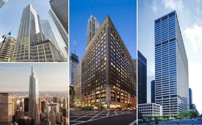 These were the top NYC office leases in December