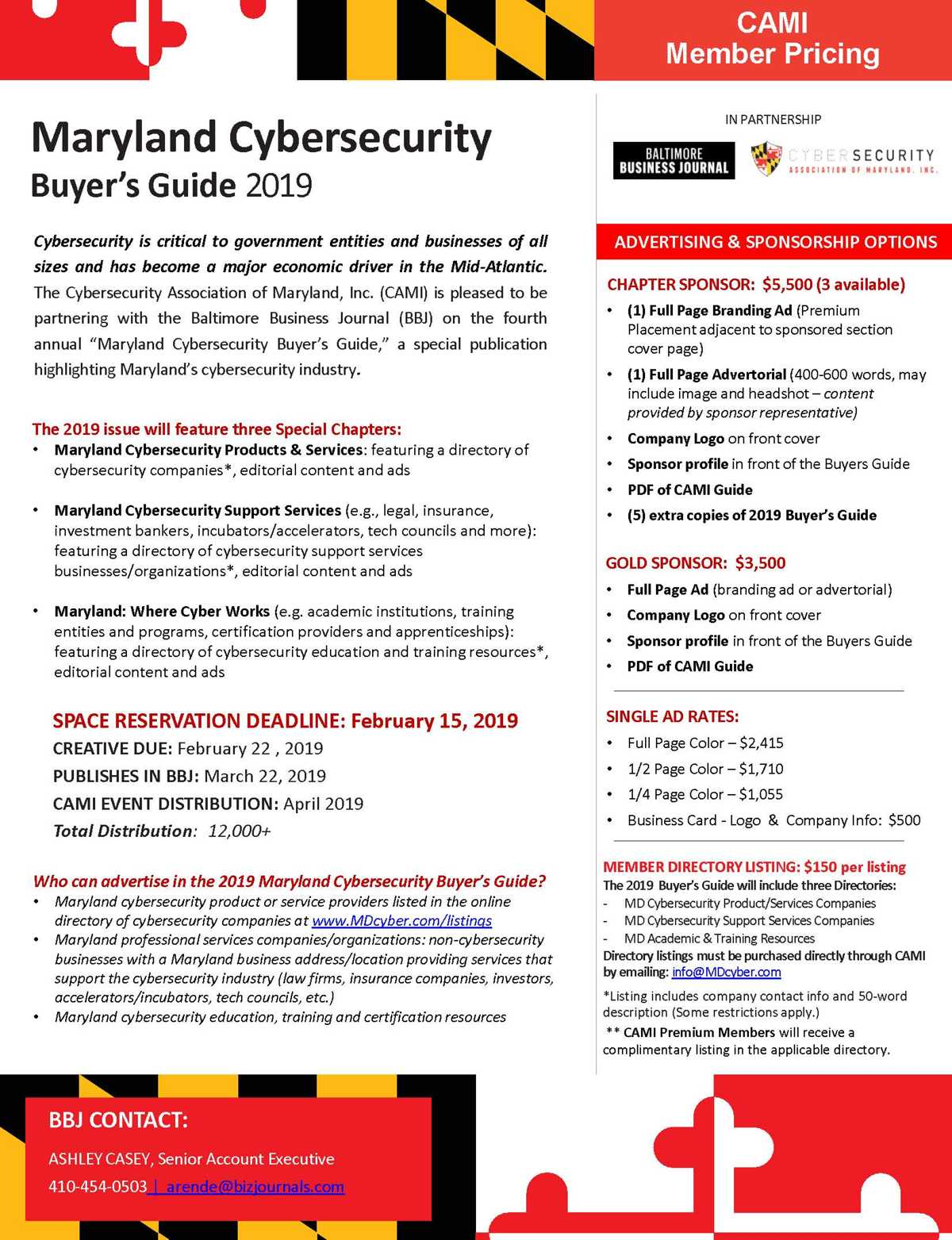 2019 Maryland Cybersecurity Buyer's Guide