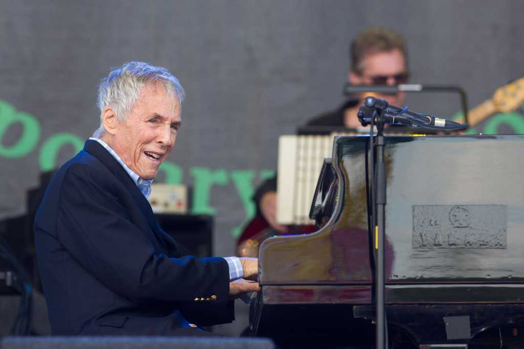 90-year-old songwriter Burt Bacharach talks about school shootings and Lady Gaga