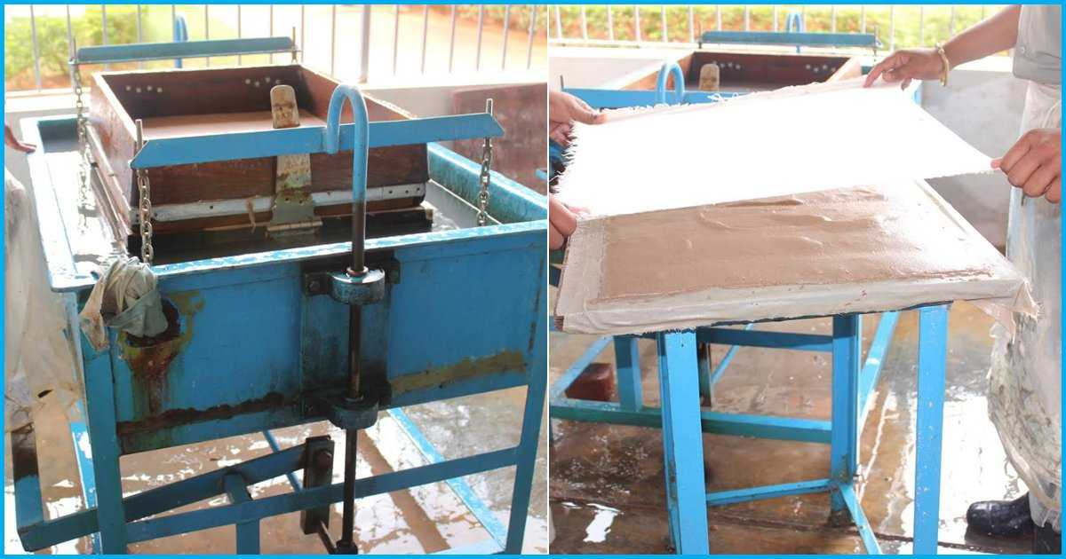 By Recycling 35 Kgs Of Raw Materials Everyday, This School Has Made 7.8 Lakh Recycled Sheets In 6 Yrs