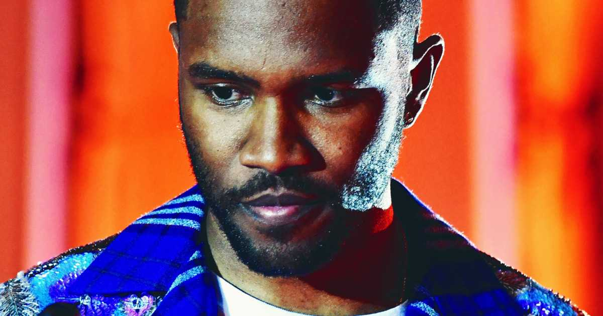 Frank Ocean Wants Men to Wash Their Faces