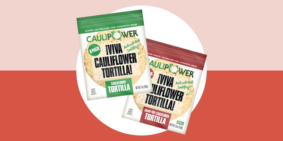 These New Cauliflower Tortillas Are Not Keto Diet-Friendly So Don't Be Fooled