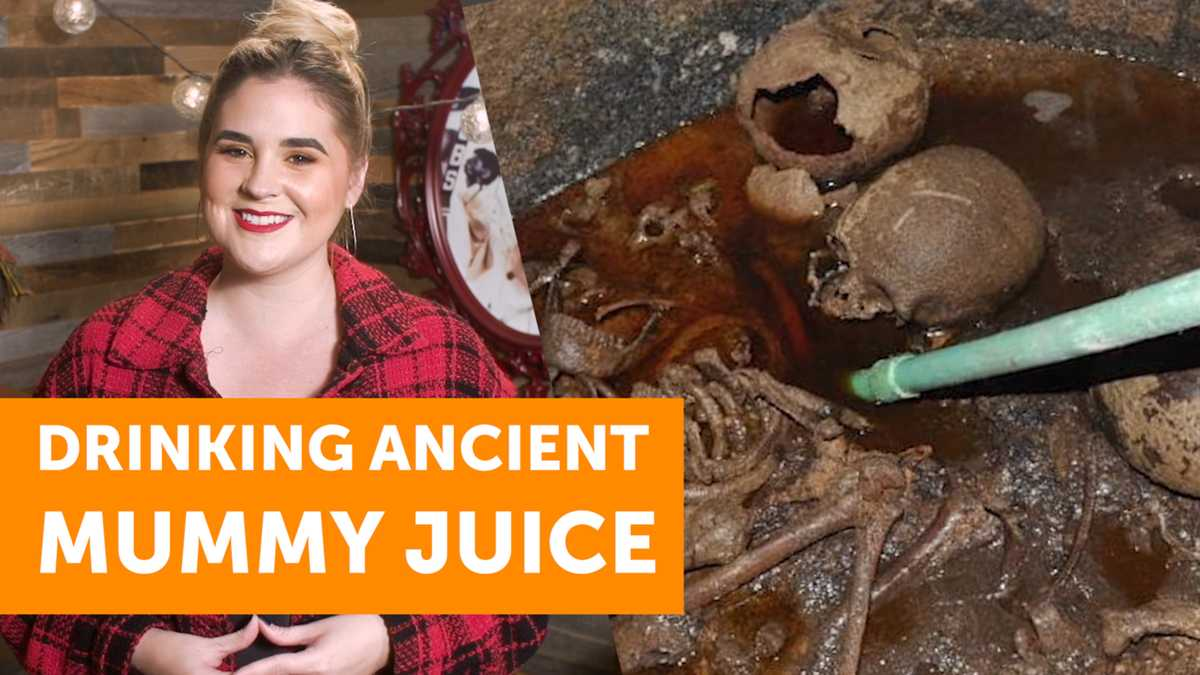 Thousands Want To Drink The Mummy Juice From A Sarcophagus