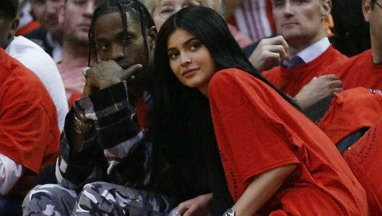 Travis Scott Buys Baby Stormi A $25,000+ Chair Made Of Stuffed Animals