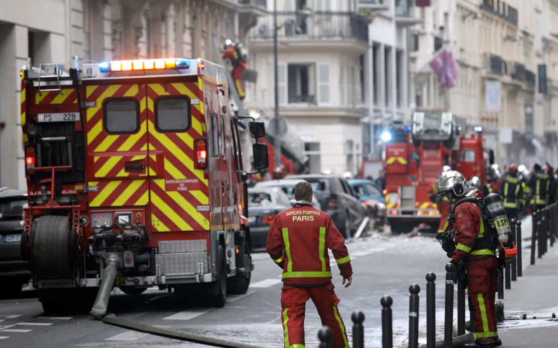36 injured in Paris bakery gas explosion