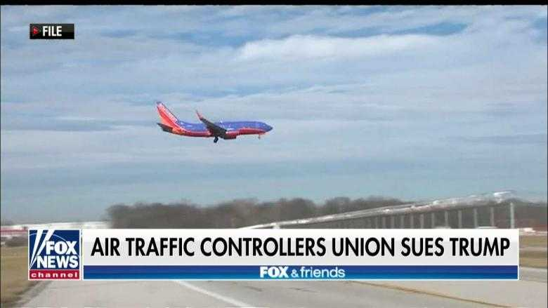 Air Traffic Controllers Union Sues Trump Admin. Over Gov. Shutdown, Claims Rights Violations