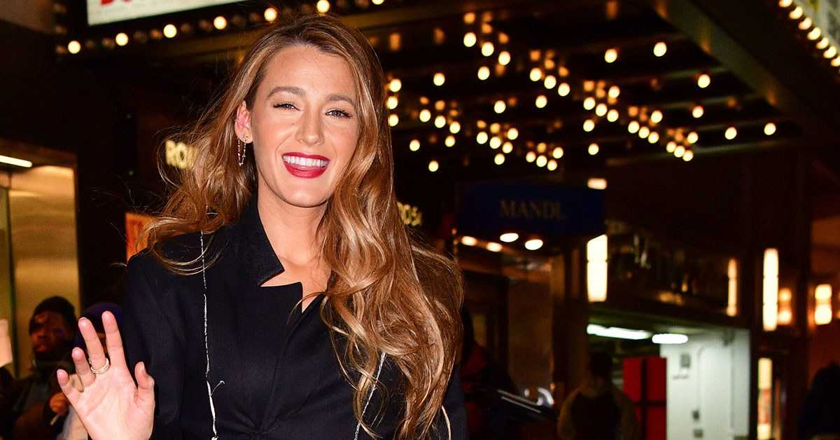 Blake Lively's Dress Was Basically a Torn-Up Coat