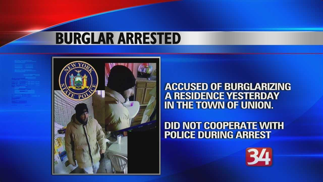 Burglary in the Town of Union