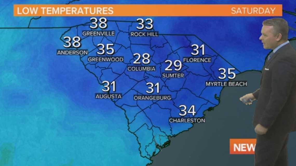 Daniel's Saturday Forecast: January 12, 2019