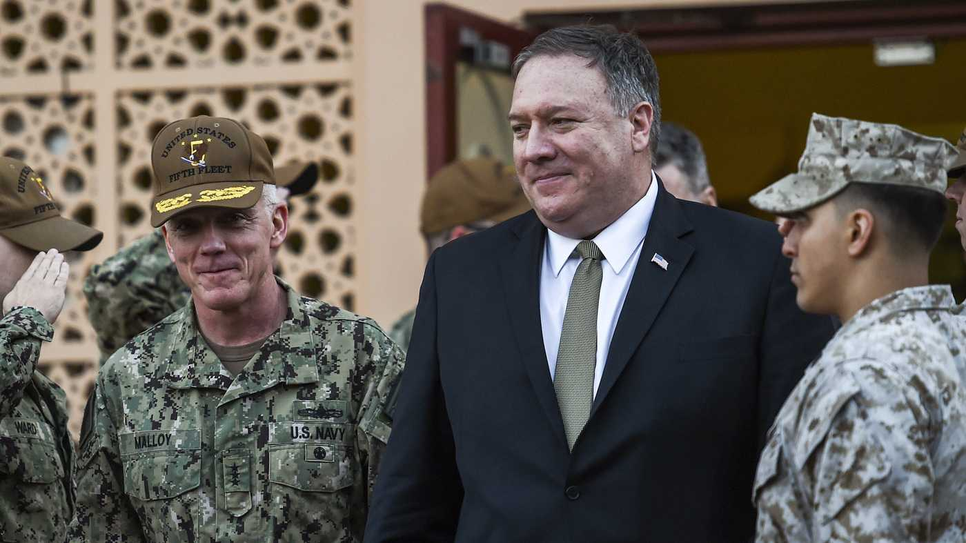 Pompeo Says The U.S. Troop Withdrawal From Syria Is Just A 'Tactical Change'