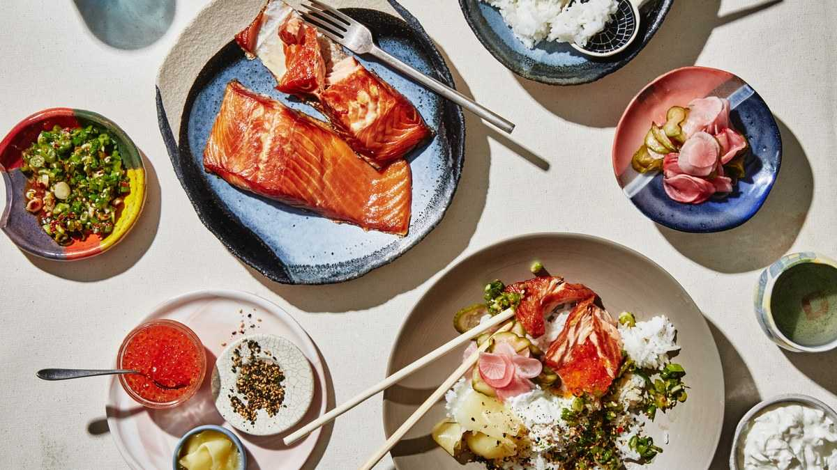 Rice Bowls with Smoked Fish Recipe