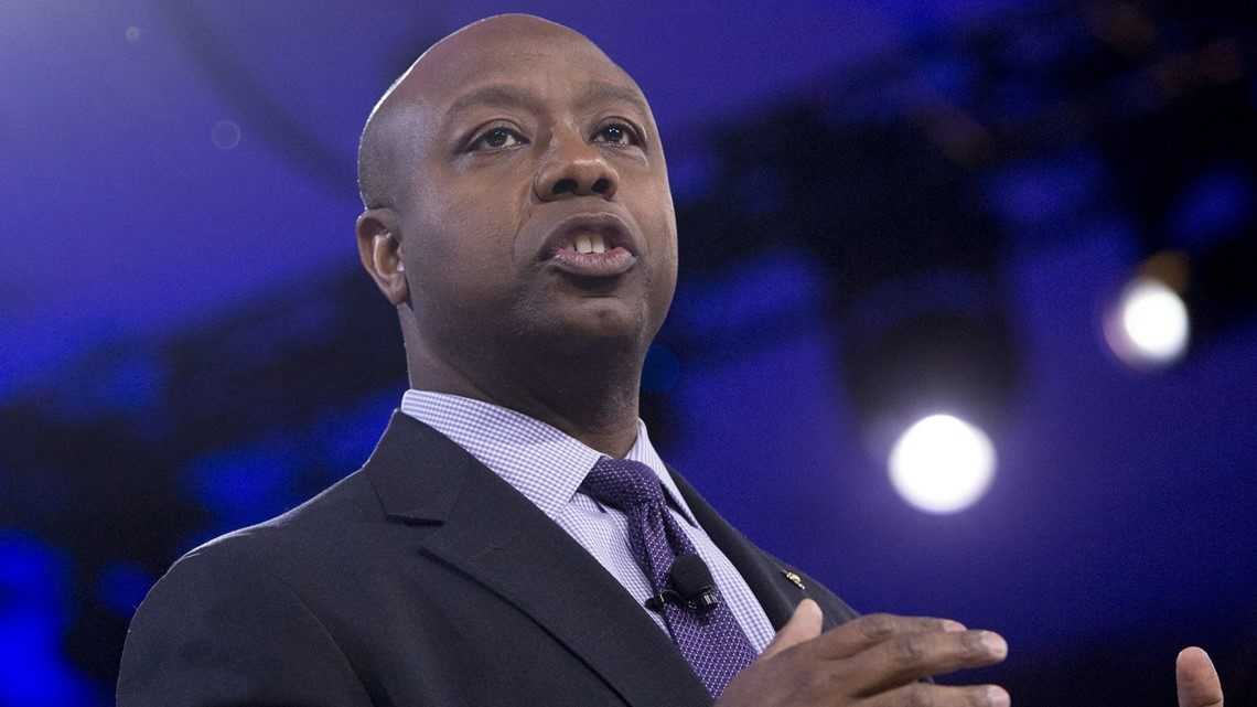 Sen. Tim Scott calls out fellow lawmaker for racist remarks