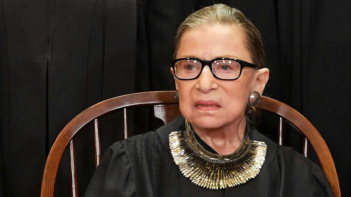 Supreme Court says Justice Ginsburg's recovery is 'on track'