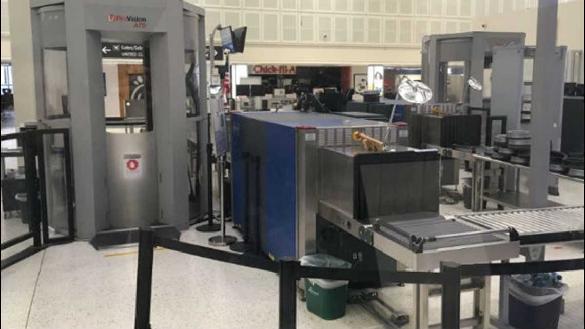 Bush airport Terminal B to be closed rest of day due to partial government shutdown