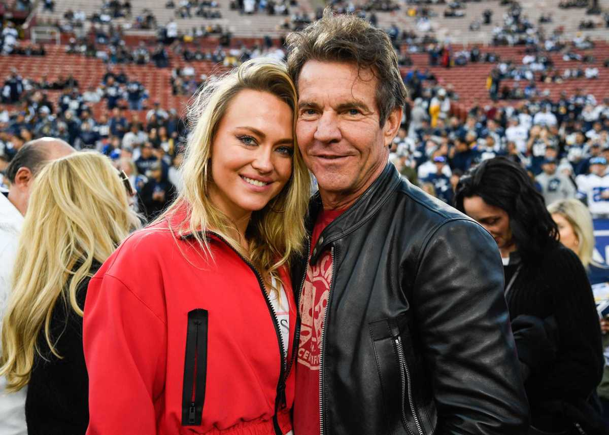 Celebrities at the Rams-Cowboys playoff game
