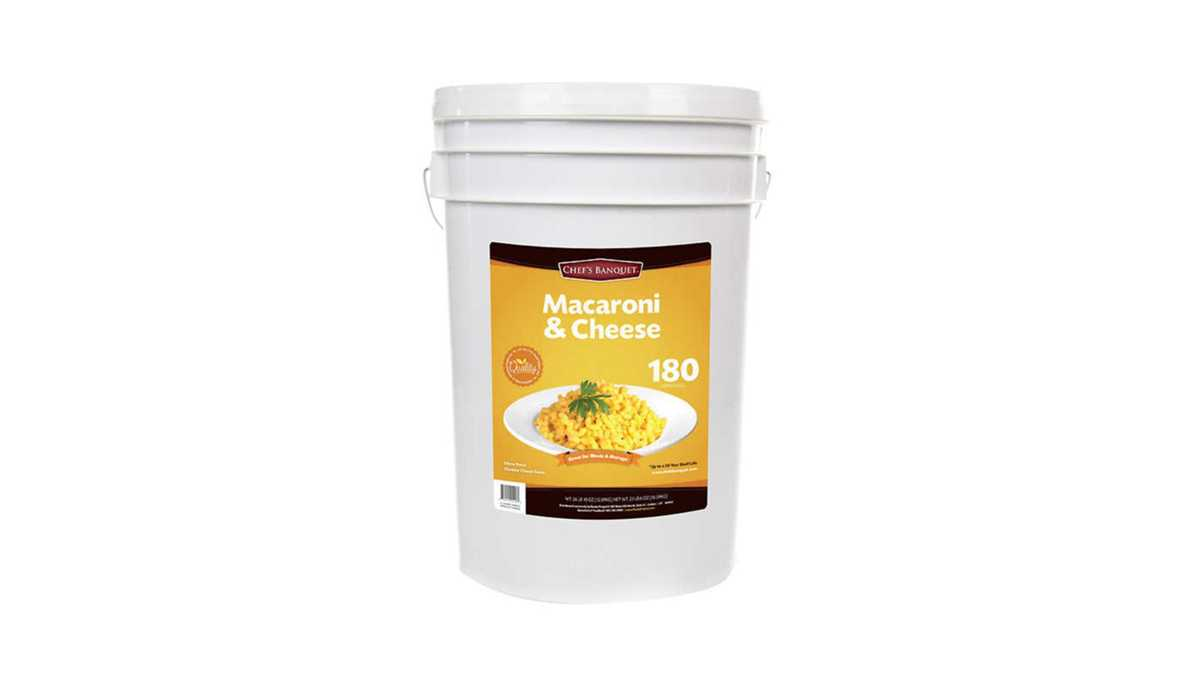 Costco Now Selling 27-Pound Bucket of Mac and Cheese