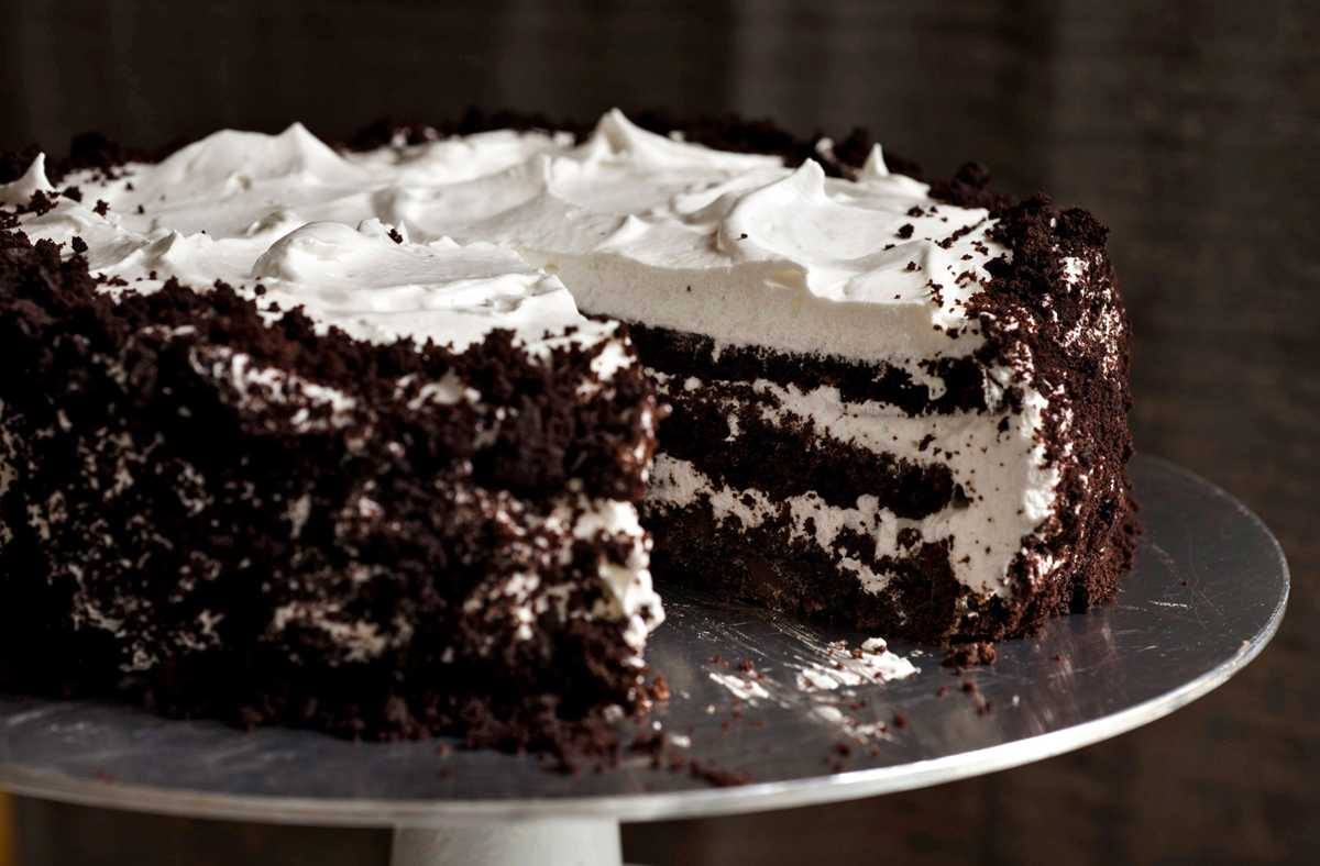 Devil's Food White-Out Cake Recipe