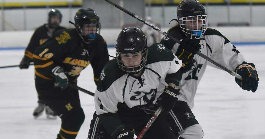 Guilford Girls' Hockey Notches Two More Wins; Fencing Goes Undefeated at Morgan Invitational