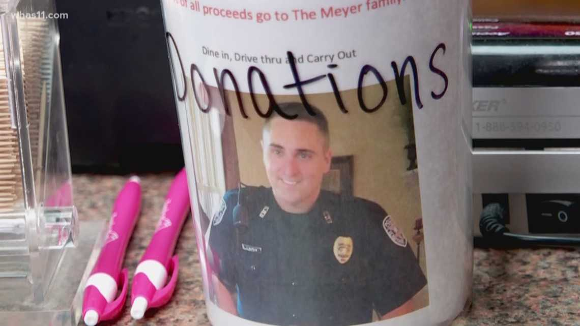 Restaurant raises funds for St. Matthews detective's family