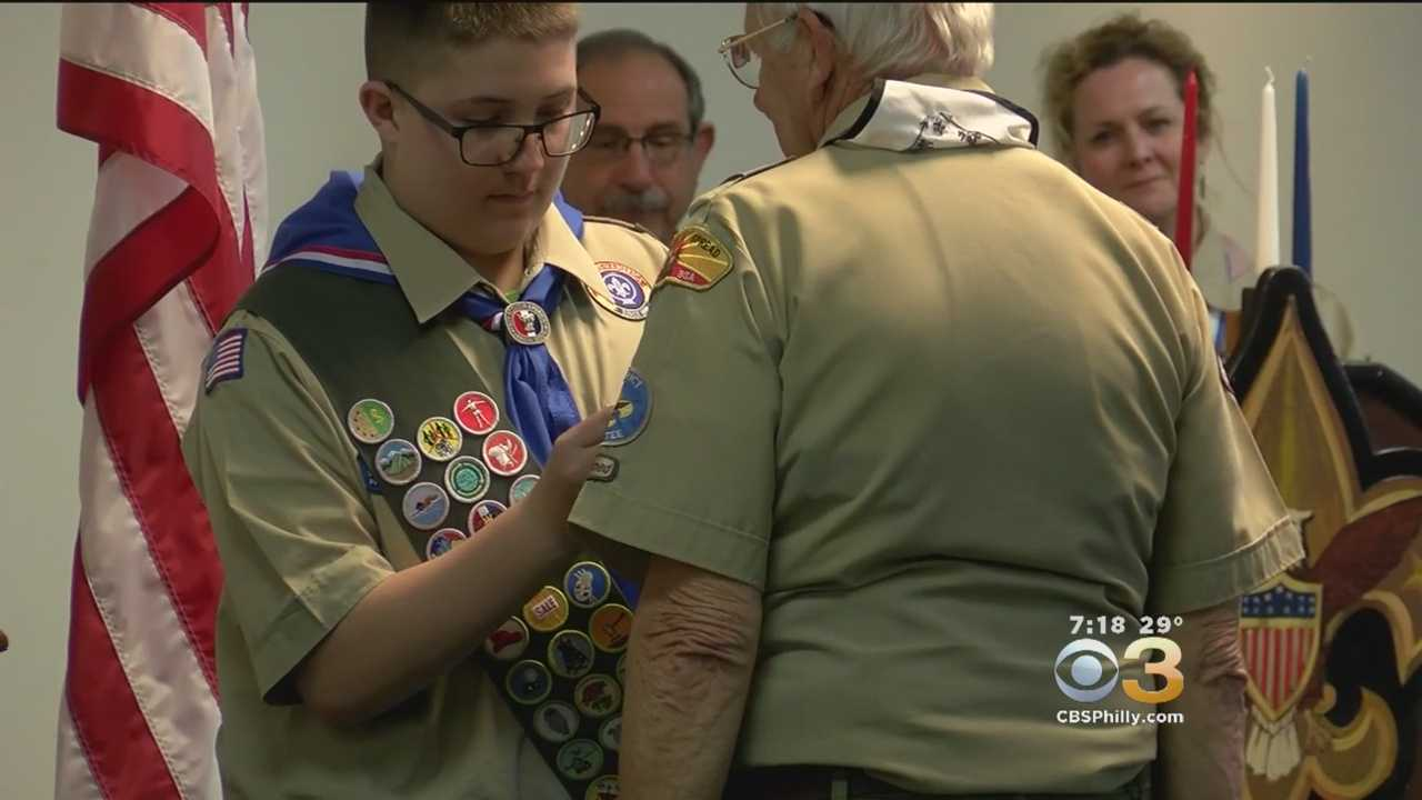 Texas Family Honoring 4th Generation Eagle Scout