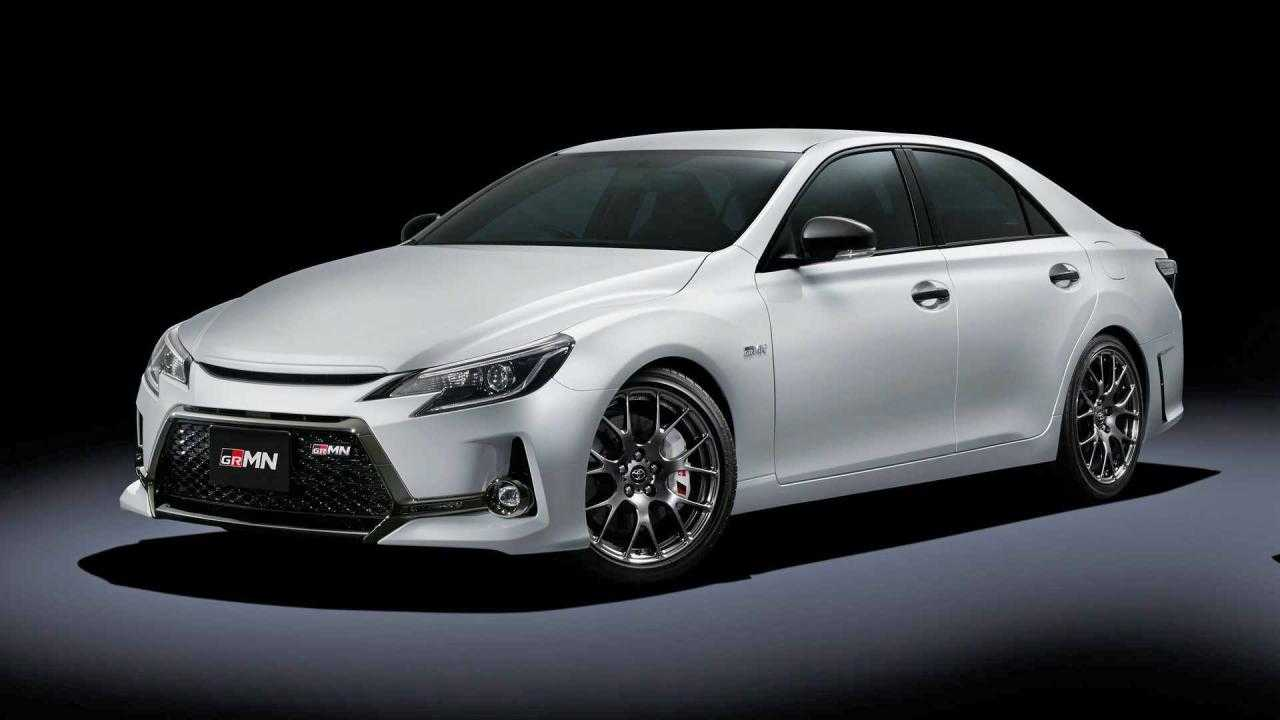 The Toyota Mark X GRMN is basically a BMW M3 homage
