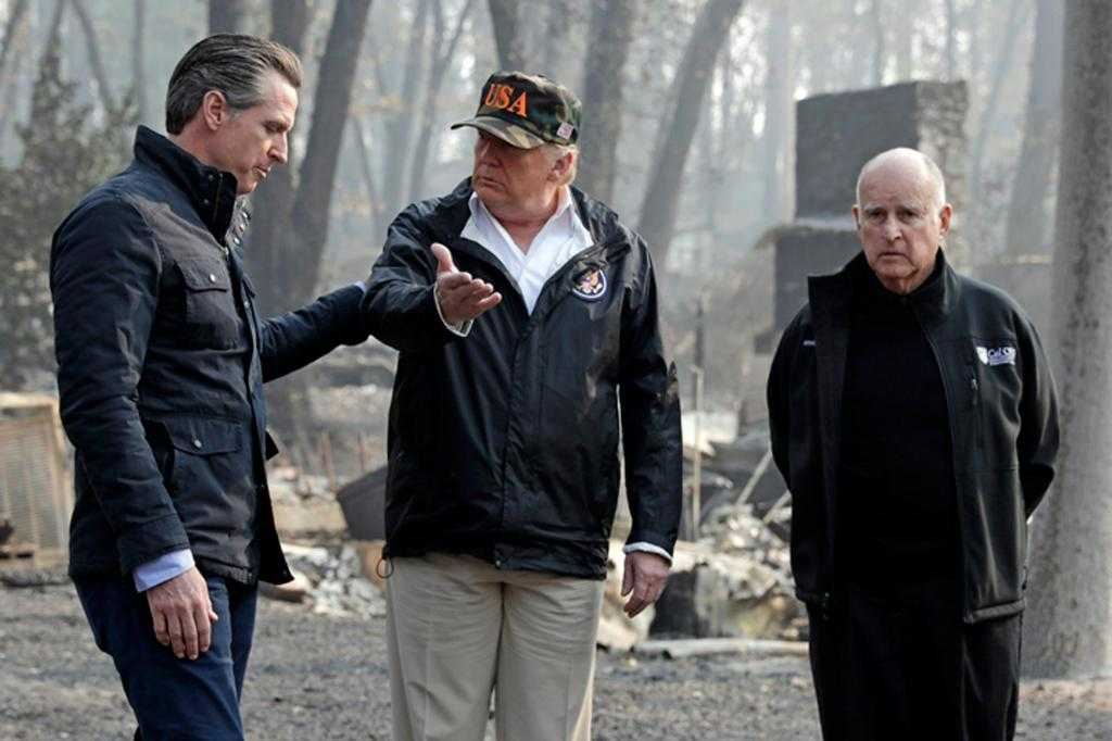 Trump's 'trifecta of ineptitude' on fires