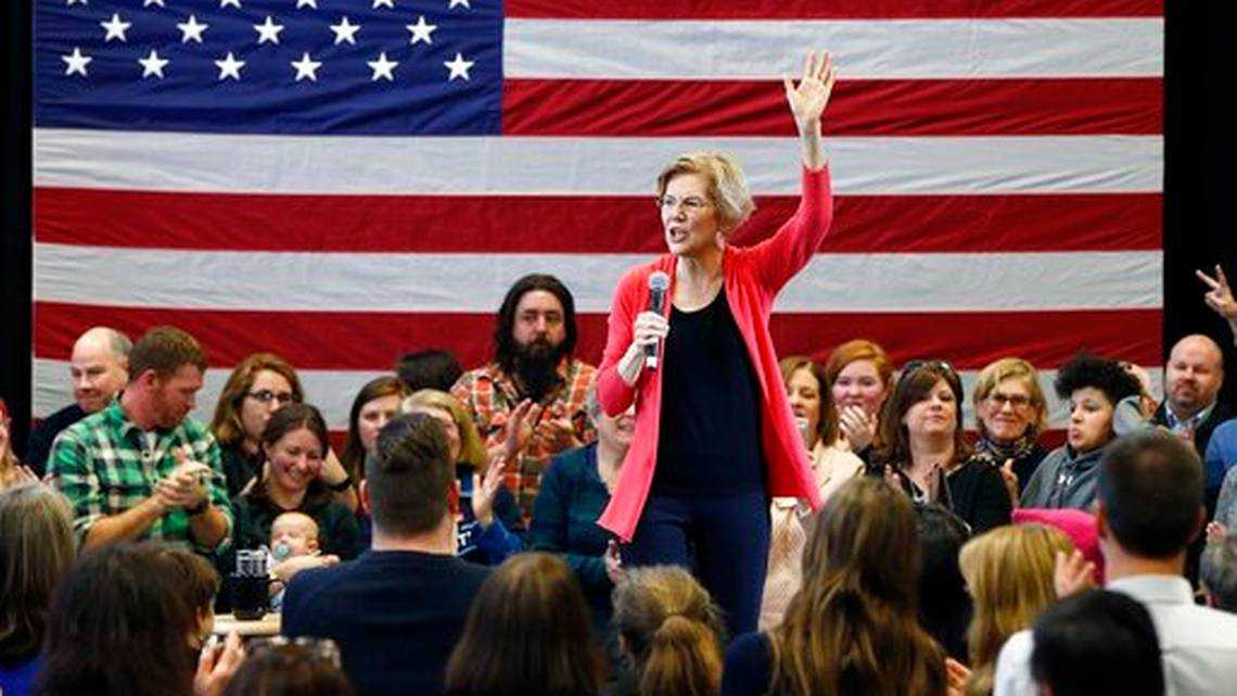 Warren makes first campaign trip to New Hampshire neighbors