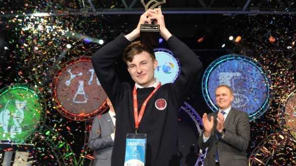 Young Scientist winner considering academia over industry career