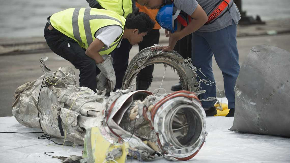 Crashed Lion Air jet cockpit voice recorder found