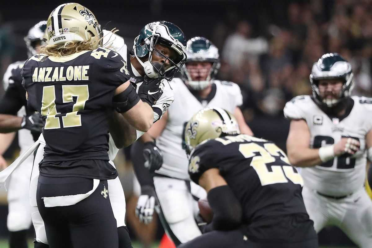 Eagles needed to be perfect against the Saints, and they weren't: 'We beat ourselves'